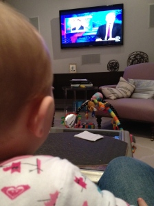 Matilda Watches the Daily SHow